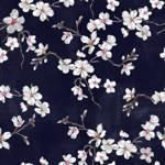 Lycra de Poliester Reciclado de 190 gr/m2 - RECYCLED - Estampado inspiracion japonesa Flor del Cerezo