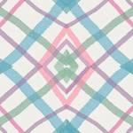 Loneta de Poliester Reciclado PET de 260 gr/m2 - Diseño de rombos multicolor