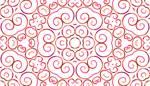 Lycra de Poliester Reciclado de 190 gr/m2 - RECYCLED - Print etnico Mosaico floral rojo