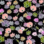 Lycra de Poliester Reciclado de 190 gr/m2 - RECYCLED - Flores Silvestres
