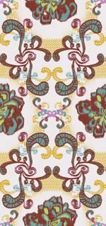 Lycra de Poliester Reciclado de 230 gr/m2 - SEAL - Decorado floral etnico