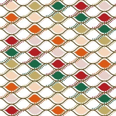 Loneta de Poliester Reciclado PET de 260 gr/m2 - Combinado de celdas multicolor con blanco
