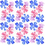 Lycra de Poliester Reciclado de 190 gr/m2 - RECYCLED - Conjunto floral Lavandas de colores