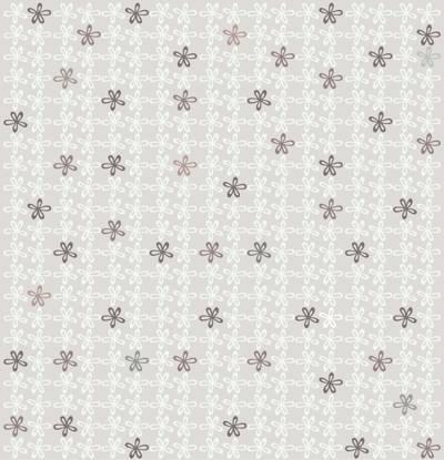 Loneta de Poliester Reciclado PET de 260 gr/m2 - Estampado Florecitas