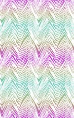 Loneta de Poliester Reciclado PET de 260 gr/m2 - Zig zag multicolor