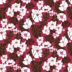 Loneta de Poliester Reciclado PET de 260 gr/m2 - Estampado pasion floral