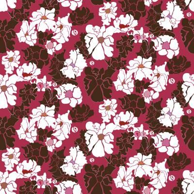 Tela de Microfibra de 110 gr/m2 - Estampado pasion floral
