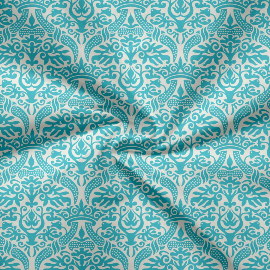 Voile - Cupid & Voile - BLUE INDIA